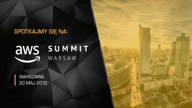 Hostersi sponsorem AWS Summit Warsaw